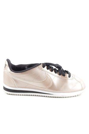 Nike Sneaker stringata oro-nero stile casual