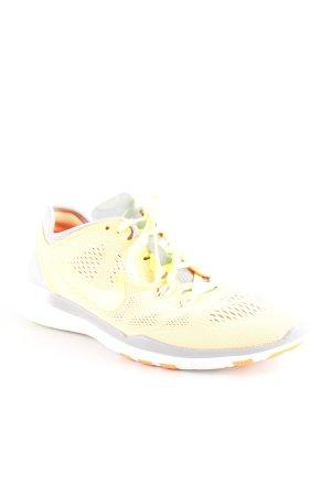 Nike Sneaker stringata giallo-oro-giallo neon stile casual