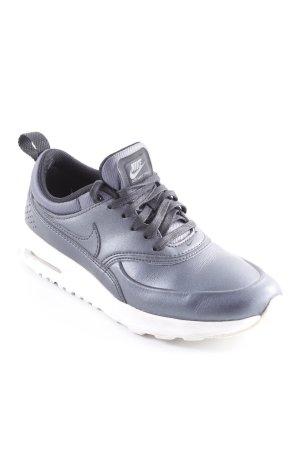 Nike Schnürsneaker graublau Metallic-Optik