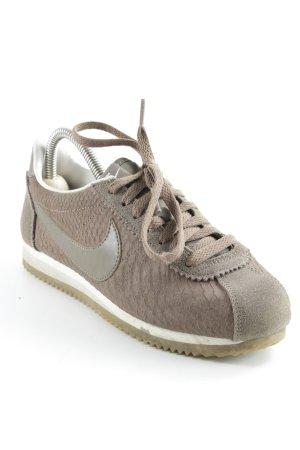 Nike Schnürsneaker hellbraun Casual-Look