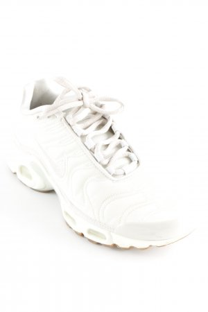 Nike Lace-Up Sneaker pale yellow athletic style