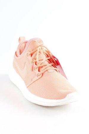 Nike Sneaker stringata salmone-bianco stile atletico