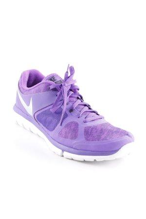 Nike Schnürsneaker lila-dunkelviolett sportlicher Stil