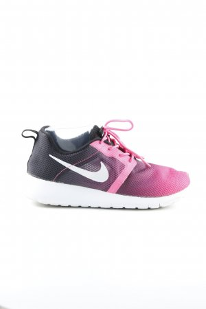Nike Schnürsneaker magenta-dunkelviolett sportlicher Stil