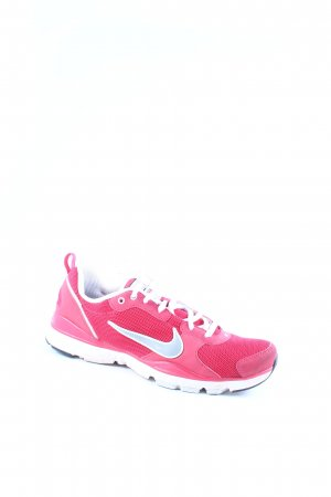 Nike Schnürsneaker magenta-weiß sportlicher Stil