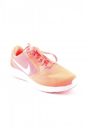 Nike Schnürsneaker neonorange Casual-Look
