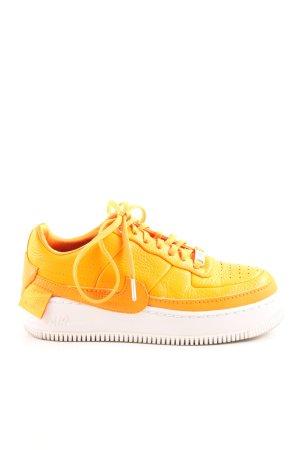 Nike Schnürsneaker neonorange-orange Casual-Look
