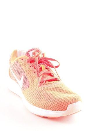 Nike Schnürsneaker neonorange sportlicher Stil