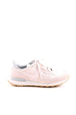 Nike Schnürsneaker pink-hellgrau Casual-Look