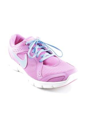 Nike Schnürsneaker pink-kornblumenblau Casual-Look