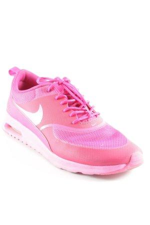 Nike Schnürsneaker pink-magenta Casual-Look