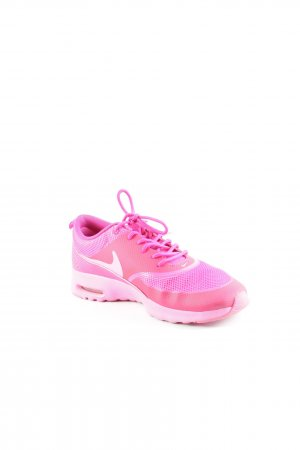 Nike Lace-Up Sneaker pink-neon pink casual look