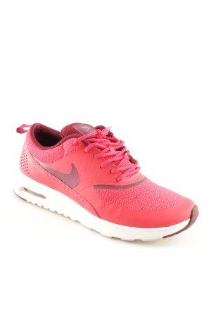Nike Schnürsneaker rot-dunkelrot sportlicher Stil
