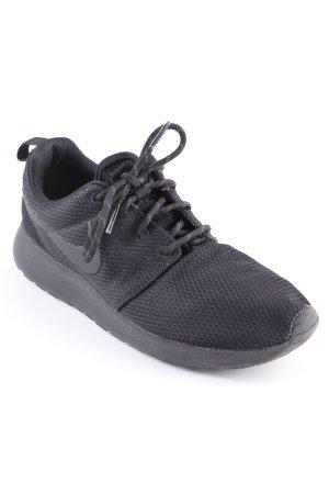 Nike Zapatilla brogue negro look casual