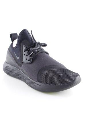Nike Schnürsneaker schwarz-dunkelblau Neopren-Optik