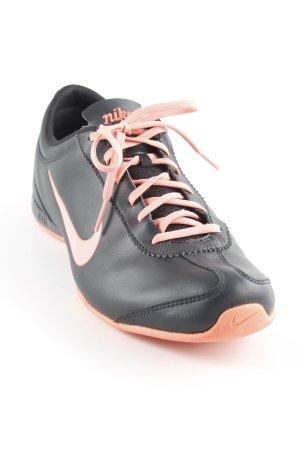 Nike Schnürsneaker schwarz-hellrot Casual-Look