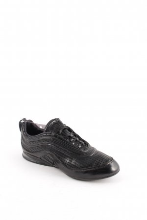 Nike Lace-Up Sneaker black leather-look
