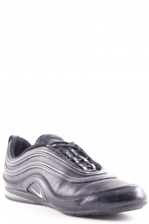 Nike Lace-Up Sneaker black athletic style