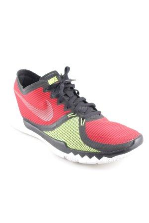 Nike Schnürsneaker Streifenmuster sportlicher Stil