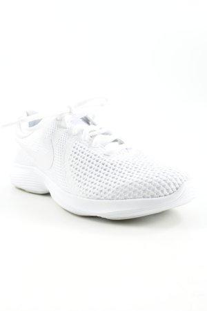 Nike Sneakers met veters wit atletische stijl