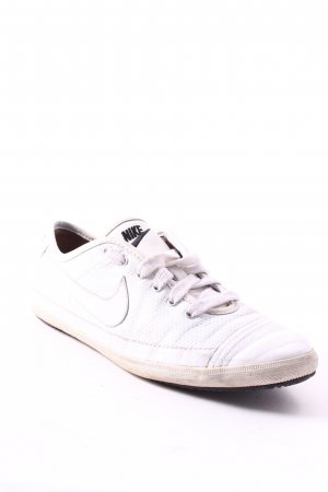 Nike Lace-Up Sneaker white athletic style