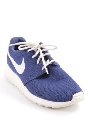 Nike Schnürsneaker wollweiß-dunkelblau sportlicher Stil