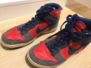 Nike Scarpa skate rosso-blu