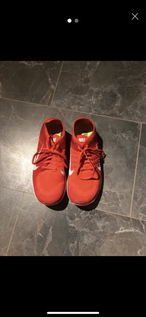 Nike Zapatilla brogue rojo