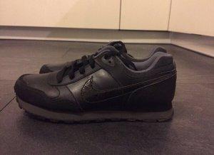 Nike Zapatillas negro-gris oscuro