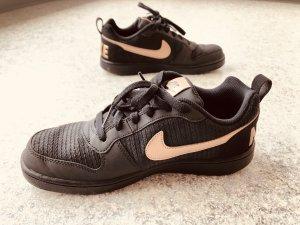 Nike Schuhe schwarz/ metallic bronze in Größe 40