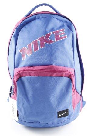Nike Schulrucksack stahlblau-magenta sportlicher Stil