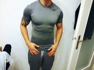 Nike Shirt Grau Sport Dryfit