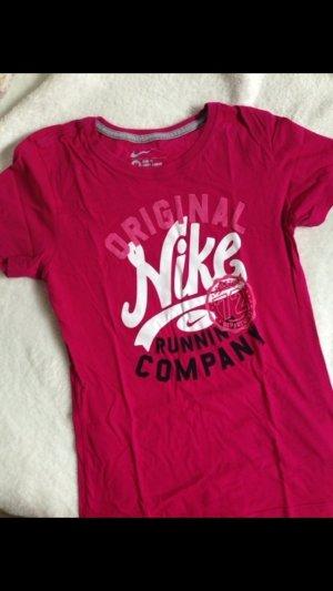 Nike Shirt pink Gr.m