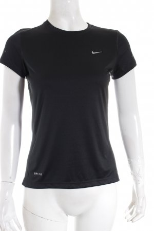 Nike Shirt schwarz Casual-Look