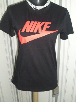 Nike T-shirt zwart Katoen