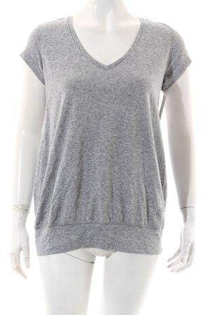 Nike Shirt white-grey athletic style