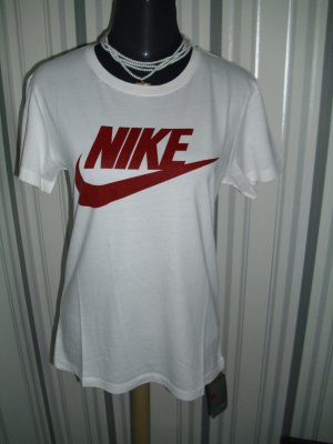 Nike Shirt weiß Größe 34 (XS)