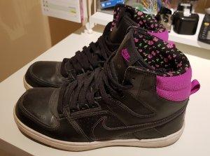Nike Basket noir-violet