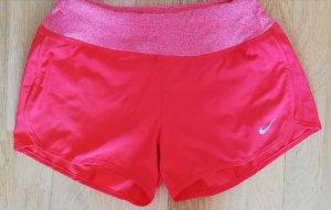 Nike Shorts rosso-rosso chiaro