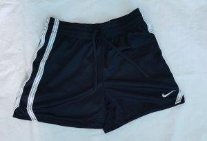 Nike Pantalon de sport noir-blanc