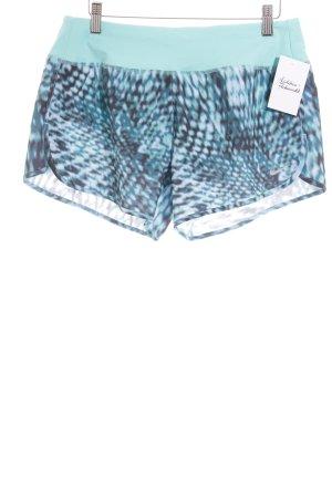 Nike Shorts schwarz-türkis Farbverlauf sportlicher Stil