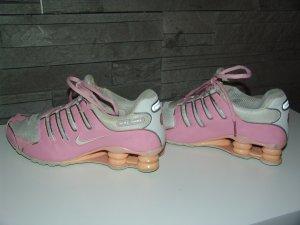 ***Nike Shox 39 (rosa / weiß)***