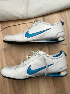 Nike Shox Sneaker Rivalry Größe 39 weiß blau Turnschuhe Schuhe