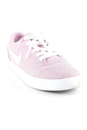 Nike Skaterschuhe rosa-weiß meliert Casual-Look