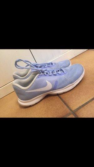 Nike Sneaker stringata azzurro-bianco