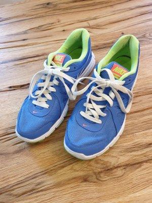 Nike Sneaker stringata blu acciaio-verde chiaro