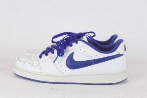 Nike Sneaker Air Force 1 Gr. 40 weiß/blau