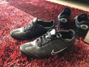 Nike Zapatilla brogue negro-color plata