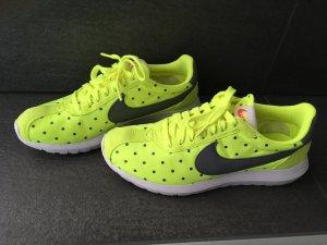 Nike sneaker Boots Turnschuhe grau gelb 38 neu air max 38,5 Blogger Thea