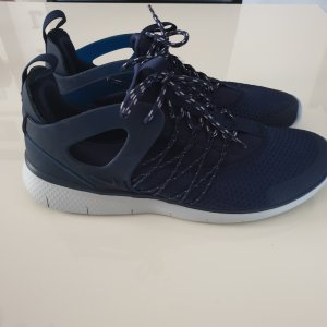 Nike Lace-Up Sneaker dark blue